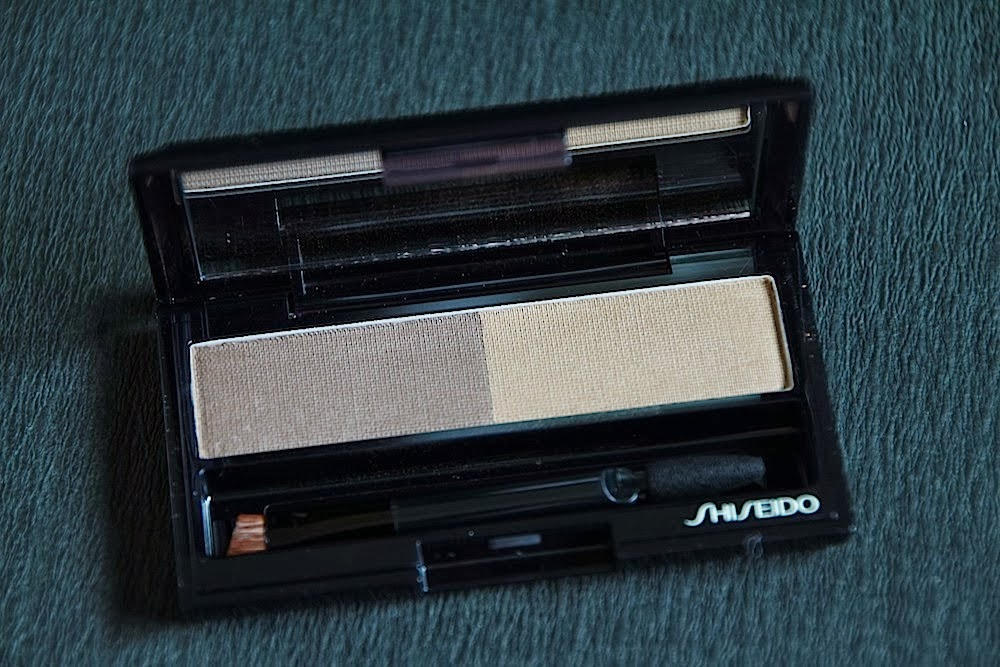 shiseido compact sourcils test avis