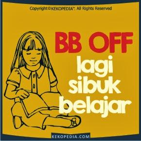 Dp BBM OFF Sibuk Belajar