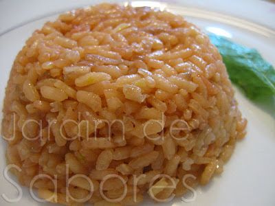 Arroz de Beterraba