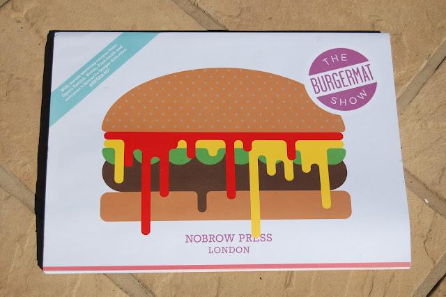 Burgerac's Burgermat Show book from Nobrow Press