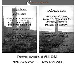 Restaurante Ayllón - Uncastillo