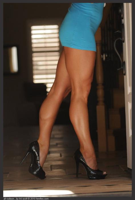 Womens Muscular Legs 14