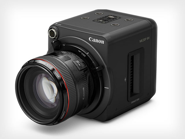 Canon ME20F-SH Camera 'Sees In Complete Darkness'