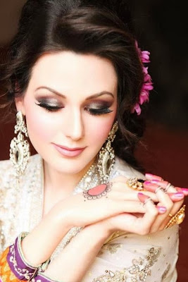 Latest Pakistani Party MakeUp At New Year 2014 | WFwomen