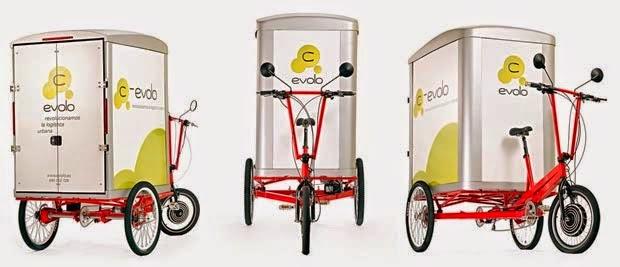 C-Evolo Z1, Tricycle électrique, Transport écologique