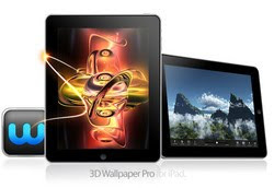 3D iPad Wallpaper App – 3D Wallpaper Pro