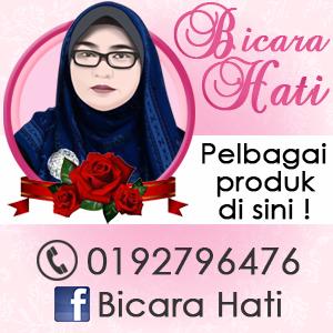 Banner Blog Bicara Hati, design banner murah, design blog murah