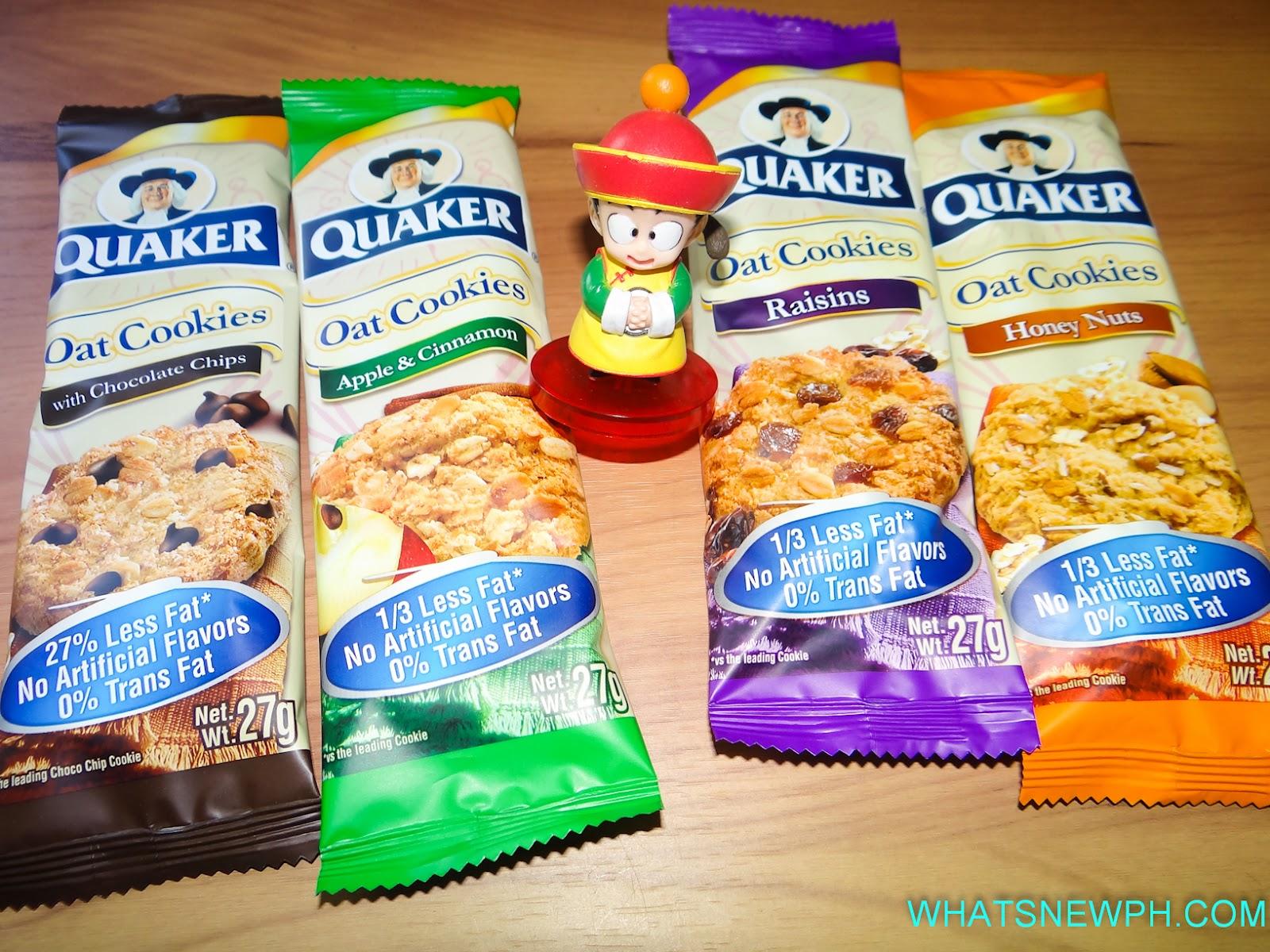 Quaker Oatmeal Cookies Quaker Oats Coo...