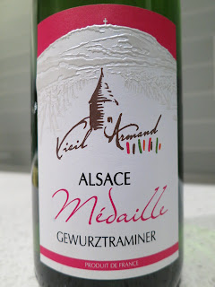 Label photo of 2010 Vieil Armand Médaille Gewurztraminer from Alsace, France