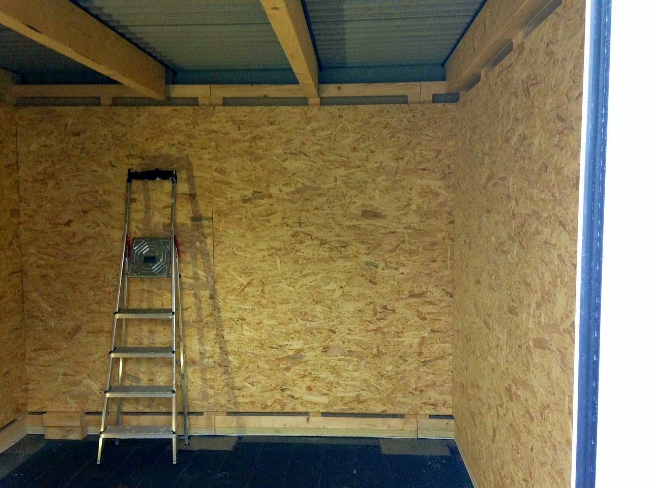 bautagebuch von marcus uta der innenausbau der garage. Black Bedroom Furniture Sets. Home Design Ideas