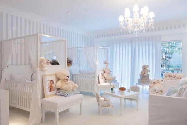 50 Ideias de quartos para bebês gêmeos » Gemelares ~ Quarto Casal De Gemeos