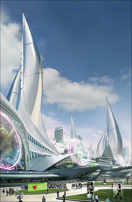 Futuristic architecture concept for Best architectural designs in the world