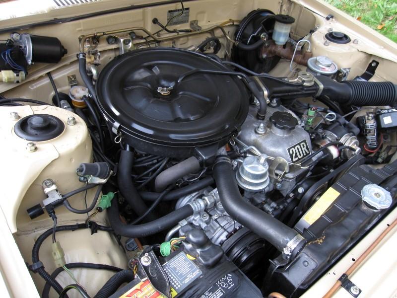 toyota celica 20r engine