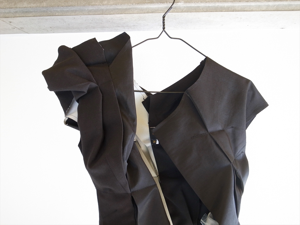 COMME des GARÇONS 2013 SS - CRUSH Long Vest