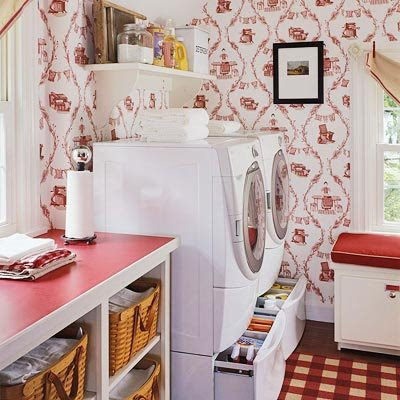 Theme Inspiration: 10 Laundry room ideas!
