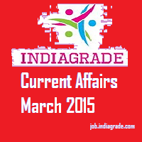 Current Affairs 2nd March 2015