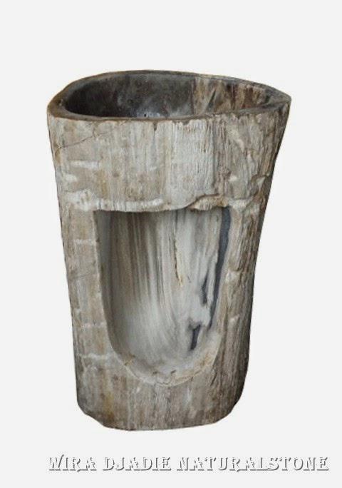 Wood Pedestal Sink : Standwaschbecken Vasque Colonne Sur Pied Pedestal Sink Natural