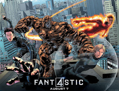 San Diego Comic-Con 2015 Exclusive Fantastic Four Movie Poster by Bryan Hitch