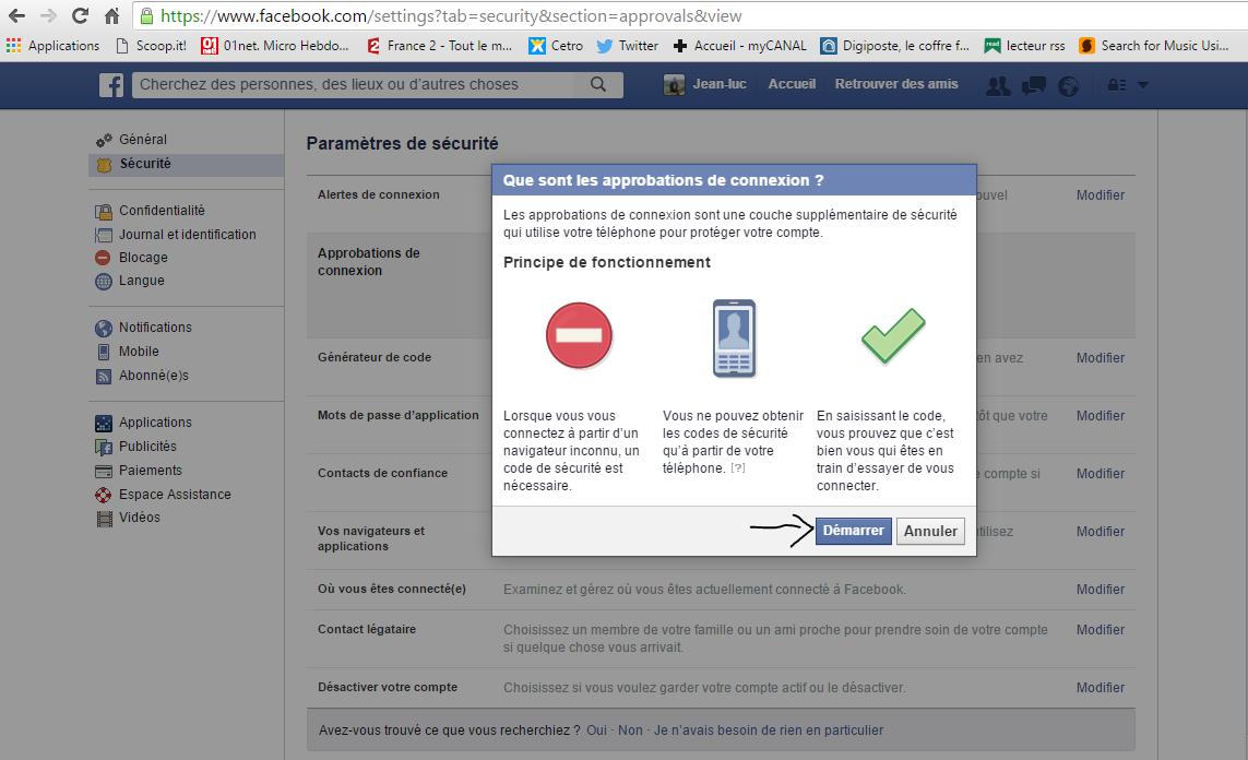 Compte Facebook Piraté Ecosia