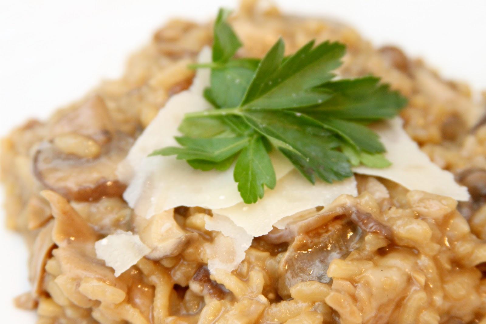 Wild Mushroom Risotto Recipe — Dishmaps