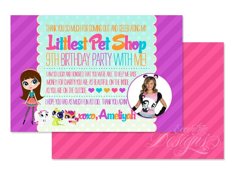 Eccentric Designs by Latisha Horton Littlest Pet Shop Birthday