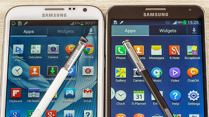Samsung Galaxy Note3 VS Samsung Galaxy Note2