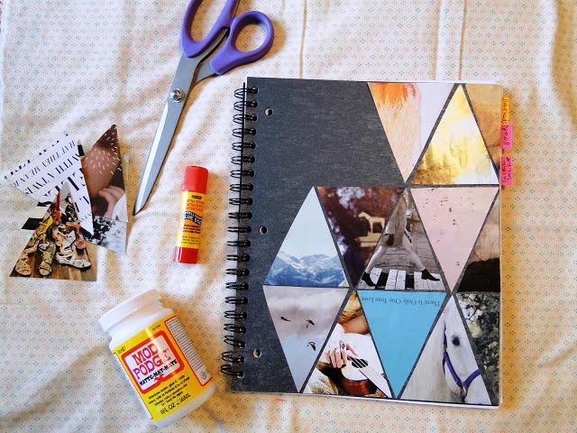 Cara Membuat Kerajinan Tangan Dari Kertas, Cover Notebook Dari Majalah