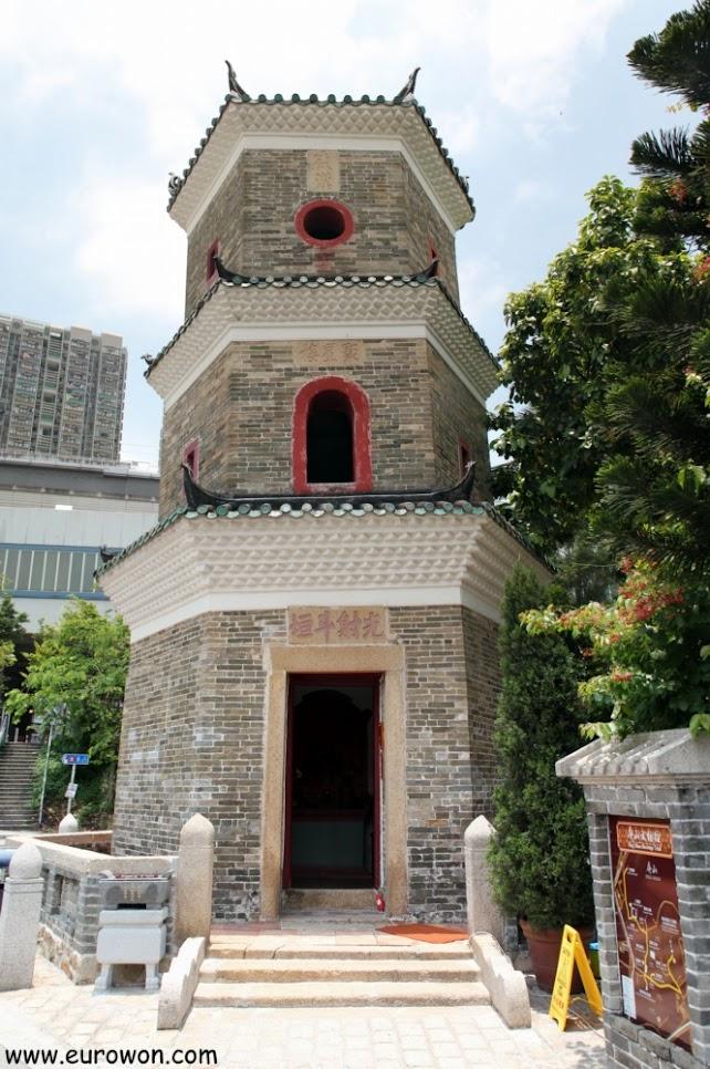 Tsui Sing Lau, la pagoda más antigua de Hong Kong