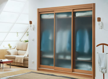 If You Have Glass Sliding Door Then The Internal Wardrobe Is Always On