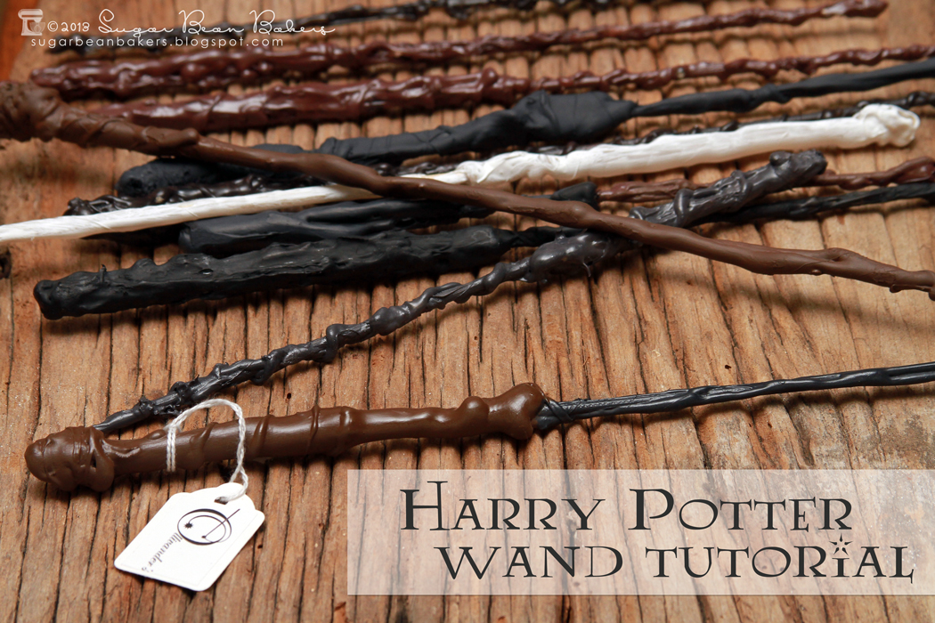 Sugar bean bakers craft wizard wands for Birthday wand