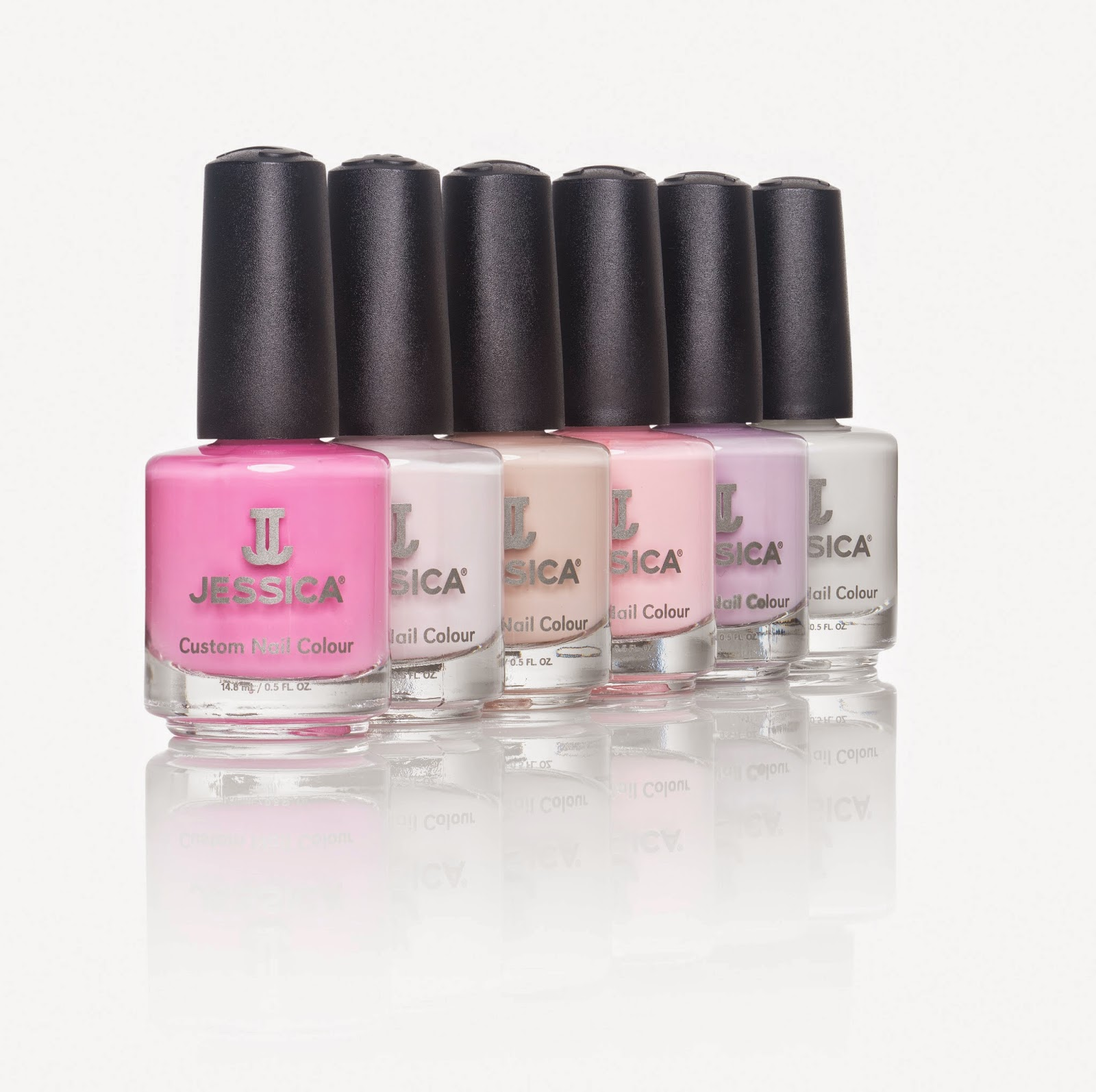 Jessica Spring Nails Whisper Collection | Pixiwoo.com