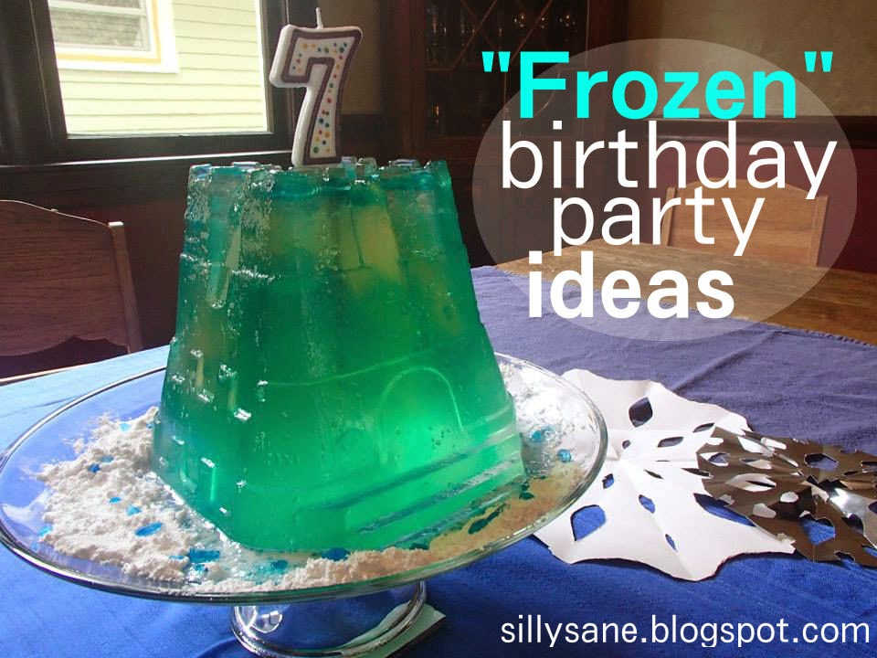 """Frozen"" birthday party ideas"