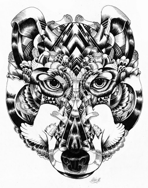 07-Iain-Macarthur-Precision-in-Surreal-Wildlife-Animals-Drawings-www-designstack-co