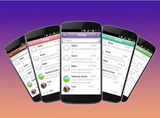 Cara Merubah Tampilan SMS Android Menjadi Tampilan iPhone