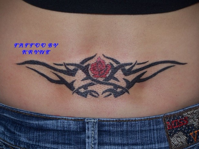Tattoos for men 2011 lower back tribal tattoos how to for Lower back tattoos for guys