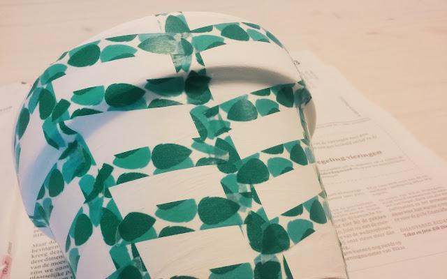 flower pot washi tape