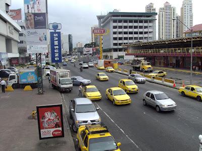 Via Espana, principal avenida da cidade do Panamá