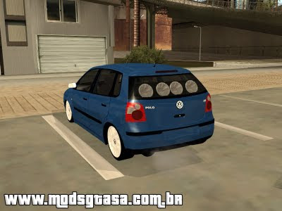 Vw Polo 2005 Edit para GTA San Andreas