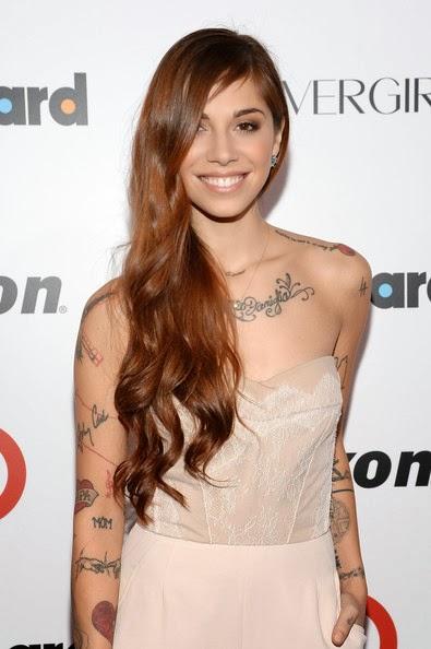 Christina Perri Hairstyle