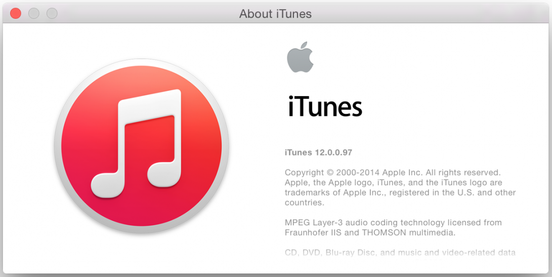 iTunes-12.0.0.97 Beta Image