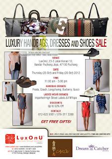 LuxOnU Luxury Handbag Sale 2012
