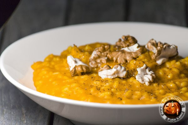 Halloween risotto
