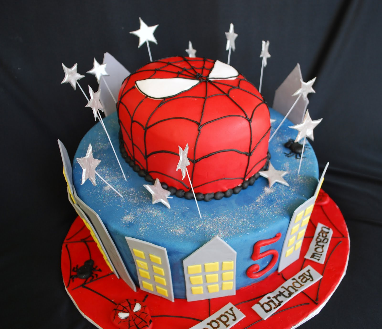 Birthday Cake Designs Spiderman : The Beehive: Spiderman Cake