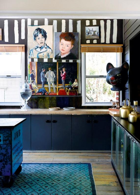 cuadros en la cocina