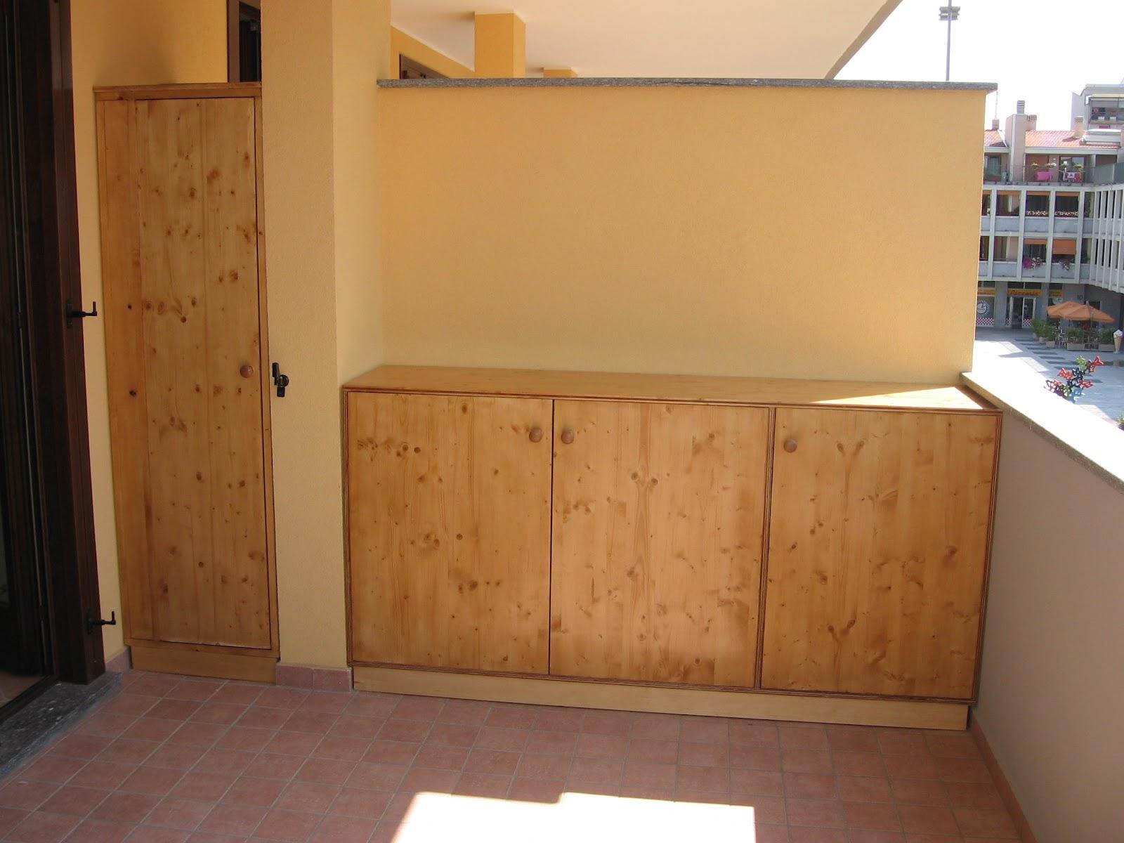 Mobili per lavatrice balcone design casa creativa e - Mobili per terrazzo ...