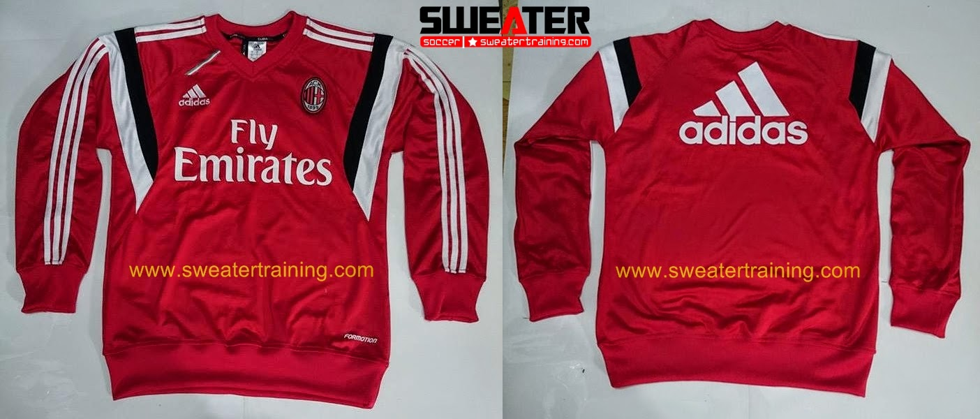 7 Kaos Baju Tshirt Adidas 03 Jaket Ac Milan Baru