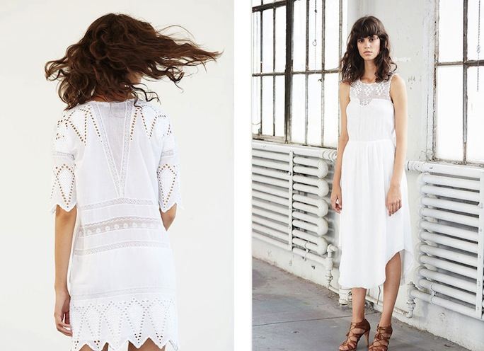 Ulla Johnson white dresses