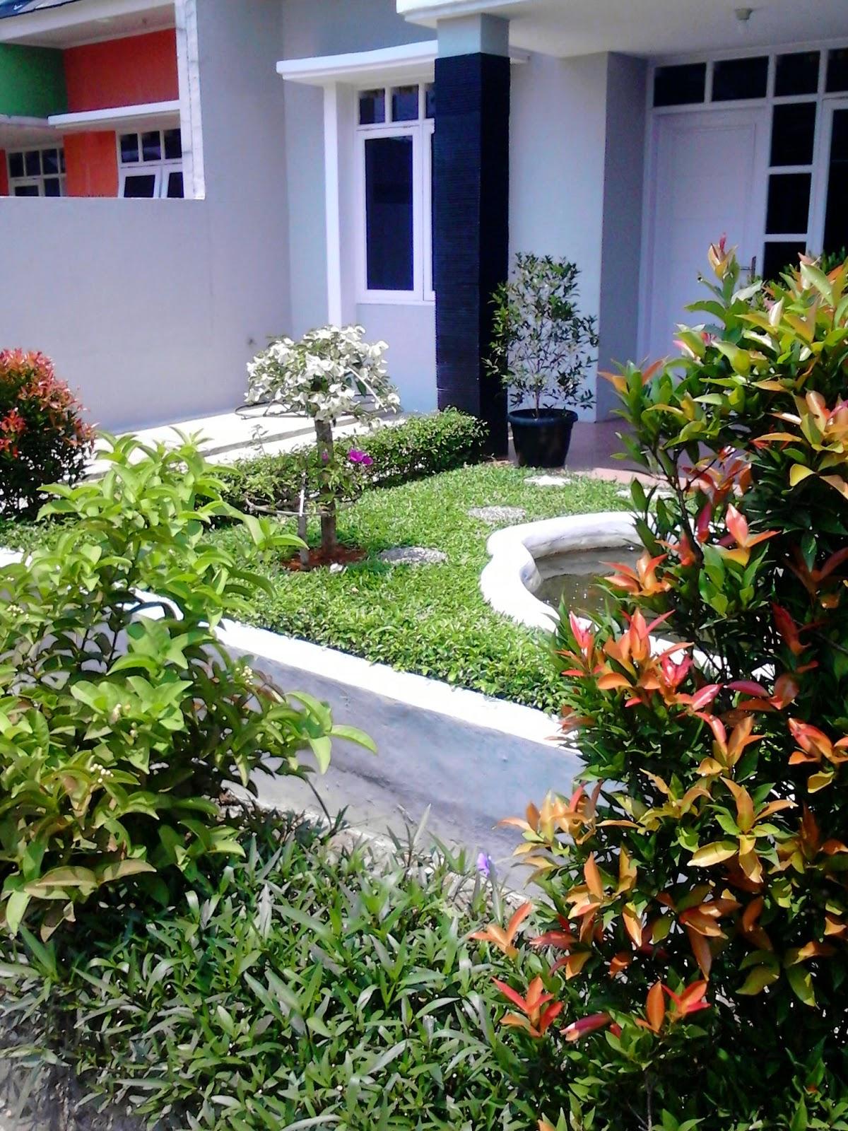 Jasa dekorasi taman | pembuatan taman minimalais | desain taman kering dan taman rumput