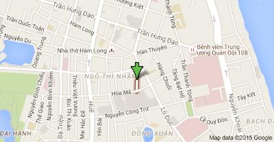 Thông tắc cống phố Lê Ngọc Hân quận Hai Bà Trưng
