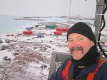 Click on the photo to read about Hubby's adventures in Antactica 2011